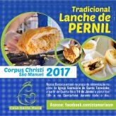 Tradicional Lanche de Pernil no Corpus Christi 2017
