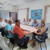 Ilustre visita do Sr. Eurípedes Barbosa Nune no último dia 20 de Fevereiro.